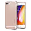Чехол-накладка для Apple iPhone 7 Plus, 8 Plus (Spigen Neo Hybrid Herringbone 055CS22232) (бежевый) - Чехол для телефонаЧехлы для мобильных телефонов<br>Обеспечит защиту телефона от царапин, потертостей и других нежелательных внешних воздействий.<br>