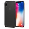 Чехол-накладка для Apple iPhone X (Spigen Air Skin 057CS22114) (черный) - Чехол для телефонаЧехлы для мобильных телефонов<br>Защитит смартфон от грязи, пыли, брызг и других внешних воздействий.<br>
