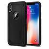 Чехол-накладка для Apple iPhone X (Spigen Hybrid Armor 057CS22349) (черный) - Чехол для телефонаЧехлы для мобильных телефонов<br>Удобный и компактный чехол, обеспечит защиту смартфона от нежелательных внешних воздействий.<br>