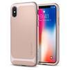 Чехол-накладка для Apple iPhone X (Spigen Neo Hybrid 057CS22169) (бежевый) - Чехол для телефонаЧехлы для мобильных телефонов<br>Обеспечит защиту телефона от царапин, потертостей и других нежелательных внешних воздействий.<br>