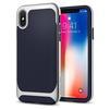 Чехол-накладка для Apple iPhone X (Spigen Neo Hybrid 057CS22167) (серебристый) - Чехол для телефонаЧехлы для мобильных телефонов<br>Обеспечит защиту телефона от царапин, потертостей и других нежелательных внешних воздействий.<br>