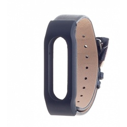 Ремешок для Xiaomi Mi Band (Xiaomi Leather Wristband tmp_587149) (черный)