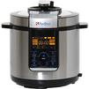 Redber МС-D1502 - МультиваркаМультиварки<br>Мультиварка Redber МС-D1502, 1000 Вт, 6 л, диапазон работы таймера 0-99 мин, корпус из нержавеющей стали, съемная чаша с антипригарным покрытием.<br>
