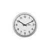 Hama CWA100 H-92645 (серебристый) - Настенные часыНастенные часы<br>Аналоговые настенные часы, цифры - арабские, материал - пластик, диаметр - 30.5 см.<br>
