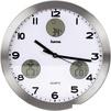Hama AG-300 H-113982 (серебристый) - Настенные часыНастенные часы<br>Часы настенные аналоговые, диаметр - 30 см, встроенный термометр, встроенный гигрометр, встроенная метеостанция.<br>