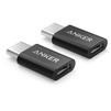 Переходник microUSB-USB Type C (Anker B8174011) (черный) - Usb, hdmi кабель, переходникUSB-, HDMI-кабели, переходники<br>Anker B8174011 - высококачественный адаптер-переходник, который может быть применен для подключения устройств, оснащенных разъемом microUSB к гаджетам с интерфейсом USB Type C.<br>