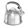 Чайник KitchenAid KTST20SBST (серебристый) - Посуда для готовкиПосуда для готовки<br>KitchenAid KTST20SBST - чайник, со свистком, объём 1.9 л, термоизолированная ручка, нержавеющая сталь, для всех типов плит.<br>
