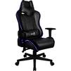 Aerocool AC220 RGB-B (черный) - Стул офисный, компьютерныйКомпьютерные кресла<br>Кресло для геймера Aerocool AC220 RGB-B, черное, с перфорацией, с RGB подсветкой, до 150 кг.<br>