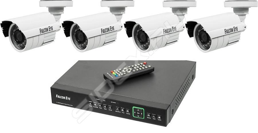 Комплект скрытого видеонаблюдения для квартиры с записью