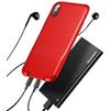 Чехол-накладка для Apple iPhone X (Baseus Audio WIAPIPHX-VI09) (красный) - Чехол для телефонаЧехлы для мобильных телефонов<br>Baseus Audio WIAPIPHX-VI09 обеспечивает качественную защиту смартфона от загрязнений и механических повреждений, а также позволяет подключать к коммуникатору сразу два кабеля Lightning. Это позволит вам одновременно слушать музыку и заряжать телефон либо передавать данные на ноутбук.<br>