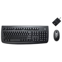 Logitech Cordless Deluxe 660 Black Desktop USB