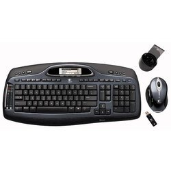 Logitech MX 5000 Laser Bluetooth Black USB