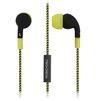 Smartbuy Z (черно-желтый) - НаушникиНаушники<br>Наушники с микрофоном, частотный диапазон: 20-20000 Гц, подключение: minijack 3.5мм.<br>