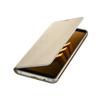 Чехол-книжка для Samsung Galaxy A8 Plus 2018 (EF-FA730PFEGRU Neon Flip Cover) (золотистый) - Чехол для телефонаЧехлы для мобильных телефонов<br>Чехол плотно облегает корпус и гарантирует надежную защиту от царапин и потертостей.<br>