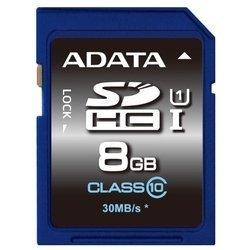 ADATA Premier SDHC Class 10 UHS-I U1 8GB