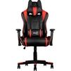 Кресло для геймера Aerocool AC220 AIR-BR (черный, красный) - Стул офисный, компьютерныйКомпьютерные кресла<br>Это игровое кресло идеально подходит геймерам ростом от 160 до 185 сантиметров. Благодаря пневматическому приводу высоту сидения легко можно подстроить под высоту стола или экрана монитора. Кроме того, сидение вращается на 360 градусов и наклоняется под нужным пользователю углом, если замок механизма наклона разблокирован.<br>