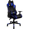 Кресло для геймера Aerocool AC220 AIR-BB (черный, синий) - Стул офисный, компьютерныйКомпьютерные кресла<br>Это игровое кресло идеально подходит геймерам ростом от 160 до 185 сантиметров. Благодаря пневматическому приводу высоту сидения легко можно подстроить под высоту стола или экрана монитора. Кроме того, сидение вращается на 360 градусов и наклоняется под нужным пользователю углом, если замок механизма наклона разблокирован.<br>
