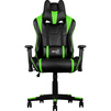 Кресло для геймера Aerocool AC220 AIR-BG (черный, зеленый) - Стул офисный, компьютерныйКомпьютерные кресла<br>Это игровое кресло идеально подходит геймерам ростом от 160 до 185 сантиметров. Благодаря пневматическому приводу высоту сидения легко можно подстроить под высоту стола или экрана монитора. Кроме того, сидение вращается на 360 градусов и наклоняется под нужным пользователю углом, если замок механизма наклона разблокирован.<br>