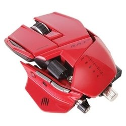 mad catz r.a.t.9 gaming mouse red usb (красный)