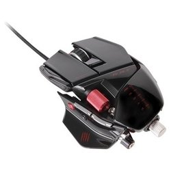 Mad Catz R.A.T.7 Gloss Gaming Mouse Black USB (черный)