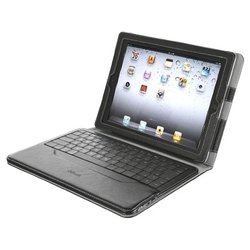 trust executive folio stand with bluetooth keyboard for ipad black bluetooth
