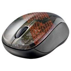 Trust Vivy Wireless Mini Mouse Sanskrit Text Black-Red USB
