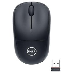 ���� dell wm123 wireless optical mouse black usb