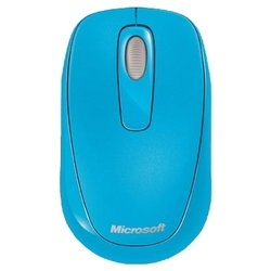 microsoft wireless mobile mouse 1000 usb (голубой)