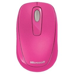 microsoft wireless mobile mouse 1000 usb (розовый)