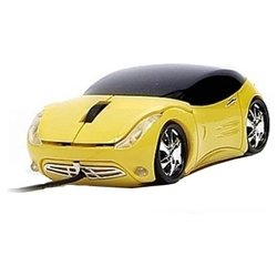 3Cott Kart Mice III Yellow USB