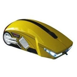 3cott racing mouse 1200 yellow usb (желтый)