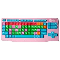 Clever Toys Wireless keyboard Pink USB