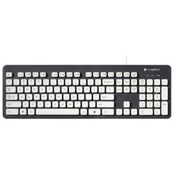 logitech washable keyboard k310 (черный)