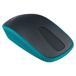 logitech zone touch mouse t400 usb (черный-голубой)
