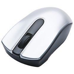 oklick 565sw black cordless optical mouse silver-black usb
