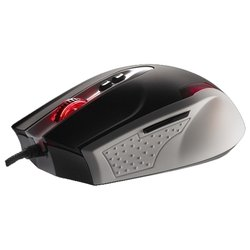 tt esports by thermaltake gaming mouse black combat white usb