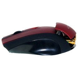 oklick 550m cordless optical red-black usb