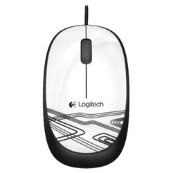 Logitech Mouse M105 USB (белый)