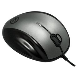 arctic m571 wired laser gaming mouse black-silver usb
