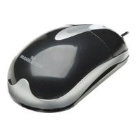 ��������� manhattan mh3 classic optical desktop mouse 177009 black ps/2