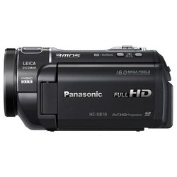 panasonic hc-x810 (black 3xmos 12x is opt 3.5 touch lcd 1080p sdxc flash)