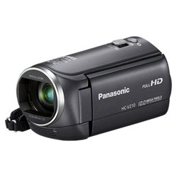 Panasonic HC-V210 (black 1xMOS 38x IS opt 2.7 1080i SDHC Flash)