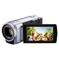 JVC Everio GZ-E100 (silver 1CMOS 40x IS el 2.7 1080p 24Mb SDHC)