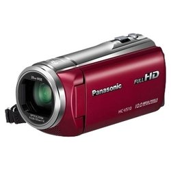 Panasonic HC-V510 (red 1xMOS 50x IS opt 3 Touch LCD 1080i SDHC Flash)