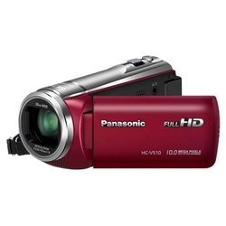 ���� panasonic hc-v510 (red 1xmos 50x is opt 3 touch lcd 1080i sdhc flash)