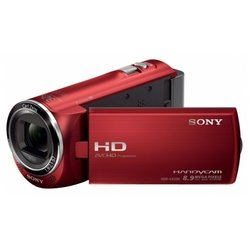 Sony HDR-CX220E (red 1CMOS 27x IS el 2.7 Touch LCD 1080p SDHC+MS Pro Duo Flash)