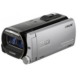 sony hdr-td20e (black/grey 2cmos 10x is opt 3.5 touch lcd 1080p 64gb ms pro duo+sdhc flash 3d)