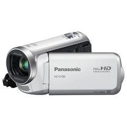 panasonic hc-v100 (white 1xmos 34x is opt 2.7 1080i sdxc+sdhc flash)