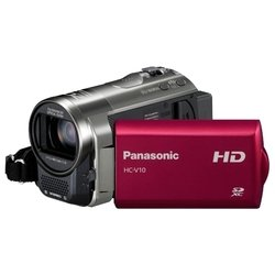 panasonic hc-v10 (red 1xmos 70x is opt 2.7 720p sdxc+sdhc flash)