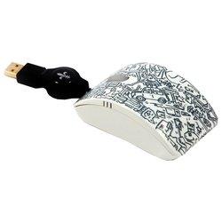 Bodino ALL AROUND MY MOUSE Black-White USB